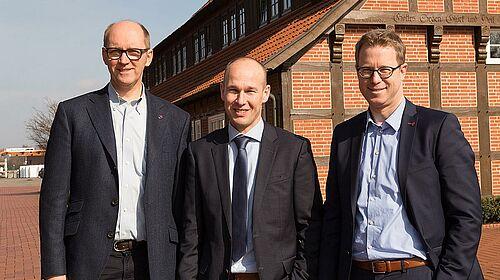 Bernd Meerpohl, Maurice Ortmans et Lars Vornhusen