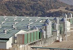 Unités de filtration AirProTec installées dans une ferme d'élevage en Espagne