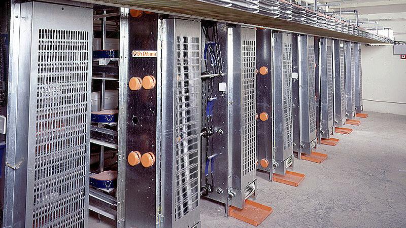 Production d'œufs plus efficace avec l'élévateur pour une haute performance de ramassage dans l'élevage en cage