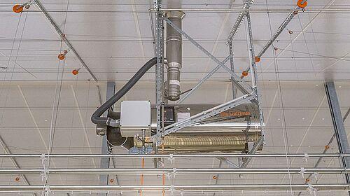 Appareil de chauffage RGA 100 pour une gestion d'ambiance saine.