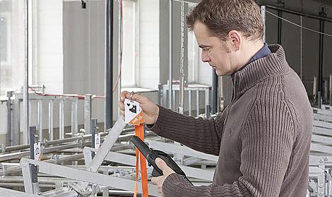 L'appareil mobil : facile à utiliser dans l'élevage de truies