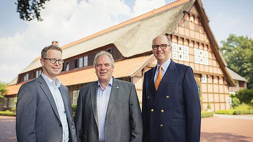 Lars Vornhusen, Siegbert Bullermann et Bernd Meerpohl