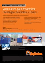 Earny - l'échangeur de chaleur
