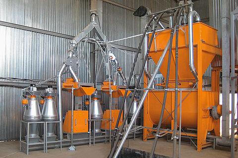 Groupes moulin-mélangeur