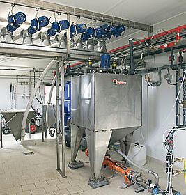 Le système d'alimentation soupe HydroAir