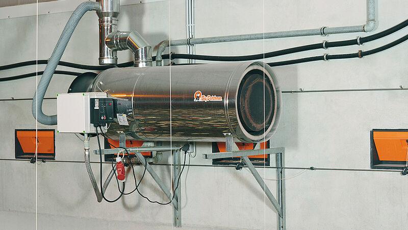 Appareils de chauffage RGA100 à faible consommation d'énergie
