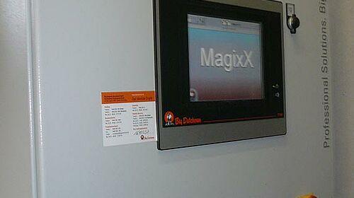 Commande MagixX-B pour le traitement de l'air évacué