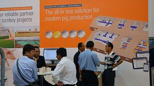 Affiche : la technologie BigFarmNet pour l'élevage de porcs