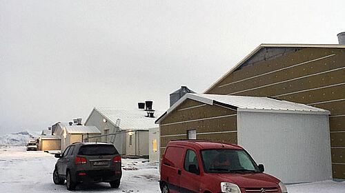 Nouveau bâtiment pour l'engraissement de poulets de chair de l'extérieur