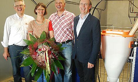 Un système d'alimentation apprécié : félicitations pour la 1,5 millionième mangeoire