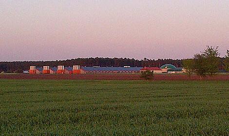 Quatre nouveaux bâtiments pour l'engraissement de poulets de chair avec les systèmes de poulailler les plus modernes