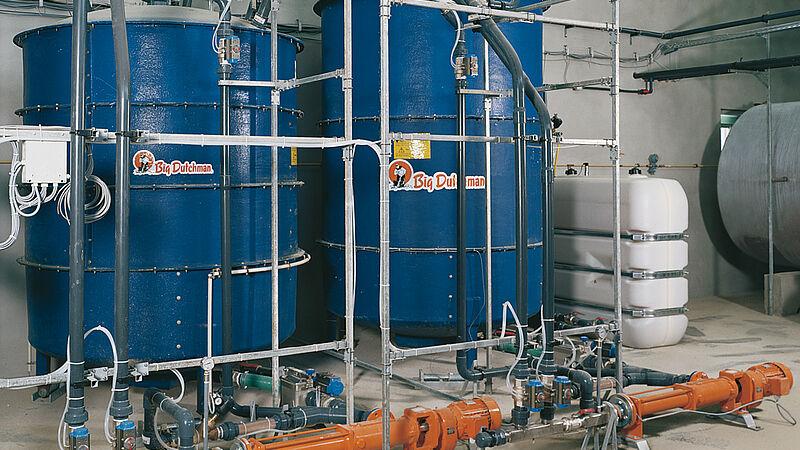 Système de distribution d'aliments liquides HydroMix