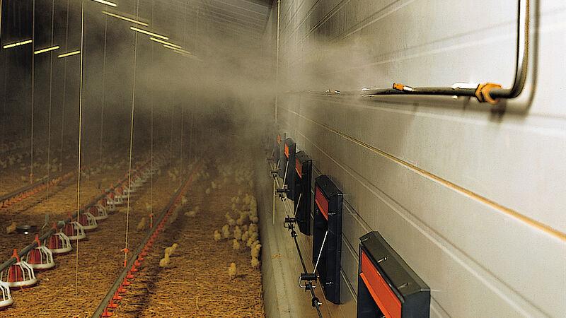 Fogging Cooler - Le système de nébulisation à haute pression