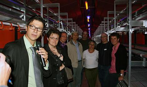 Poulailler élevage en volière : l'inauguration