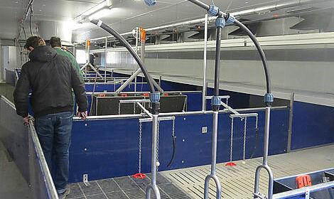 Système de l'alimentation sèche DryExact Pro.