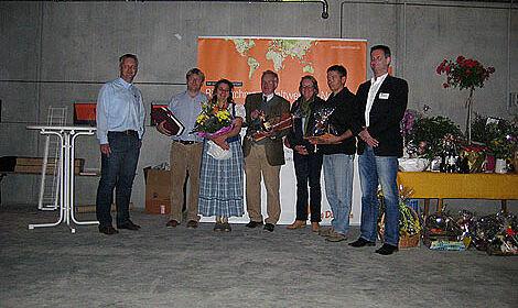 Inauguration des nouveaux poulaillers pour l'élevage de reproducteurs chair